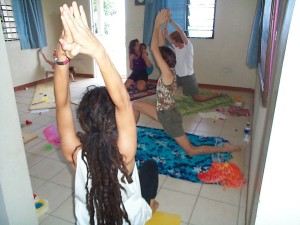 Children's yoga a